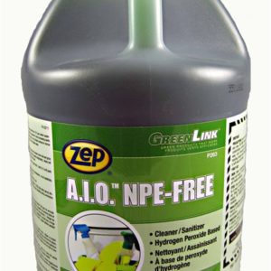 A.I.O 4L cleaner and disinfectant.