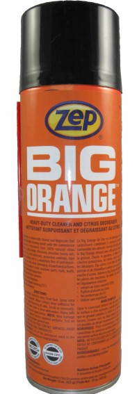 Big Orange Aerosol Degreaser