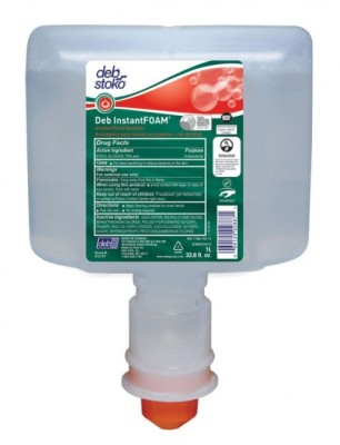Deb InstantFOAM Alcohol-Based Hand Sanitizer - TouchFREE