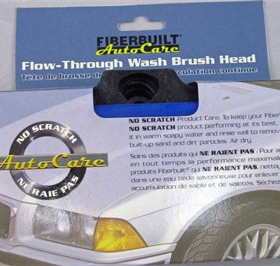 Fiberbuilt Flow through Vehicle Brush