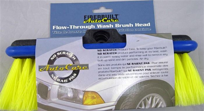 Fiberbuilt Flow through Vehicle Brush