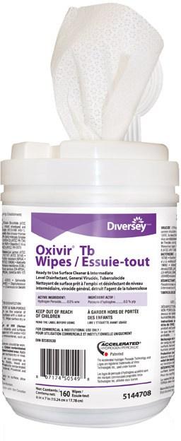 Oxivir Tb Wipes Soap Stop