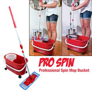 Pro Spin Professional Spin Mop Bucket.