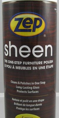 Zep Sheen Furniture Polish.