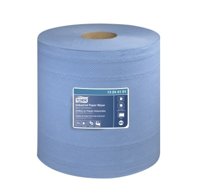 Tork Industrial Paper Wiper Jumbo - 4 Ply