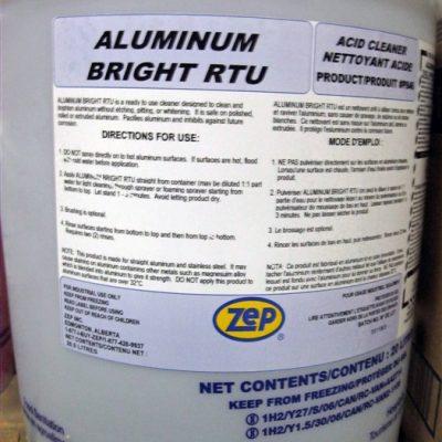 Zep Aluminum Bright R.T.U