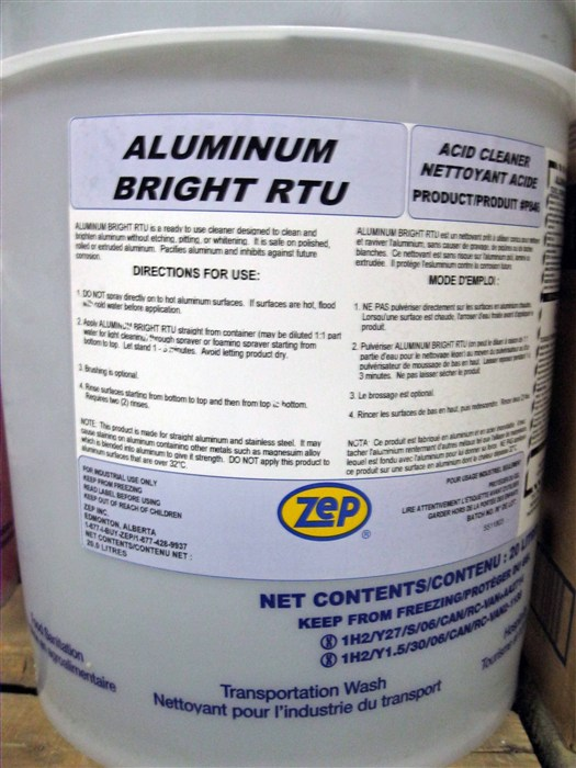 Aluminum Bright Rtu Soap Stop