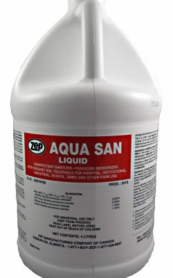 Zep Aquasan Food Grade Sanitizer and Disinfectant