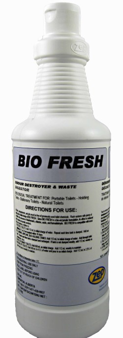 Zep Bio Fresh Septic and RV toilet waste digester