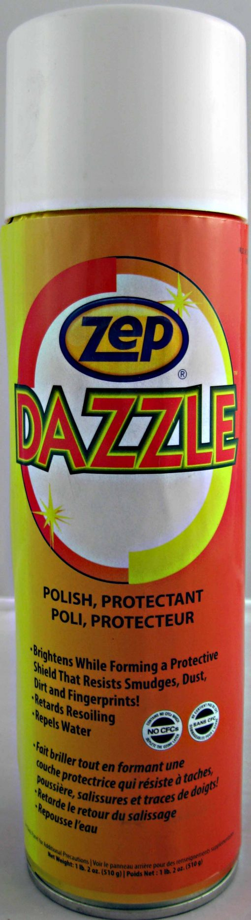 Zep Dazzle hard surface cleaner and polisher.