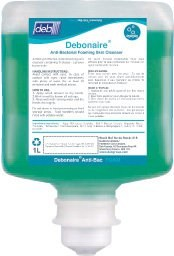 Debonaire Anti-Bacterial Foaming Skin Cleanser for Proline Dispenser