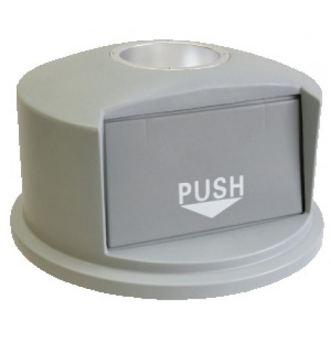 Dome Lid With Ashtray for 30 gal containers.