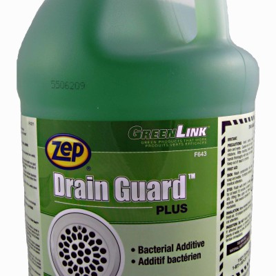 Zep Drain Guard urinal and drain maintenance and deodorizer.