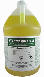 Zep Dyna Quat Cleaner and Disinfectant.