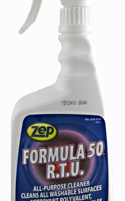 Zep Formula 50 R.T.U ready to use cleaner and degreaser.