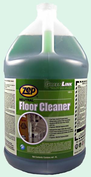 Zep Green Link Neutral Floor Cleaner.