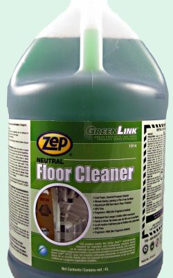 Zep Green Link Neutral Floor Cleaner.