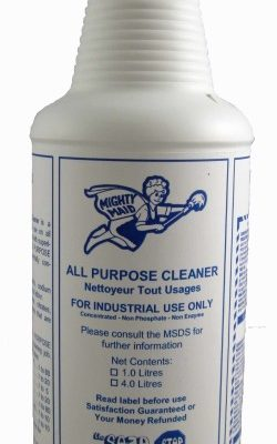 Mighty Maid All Purpose Cleaner.