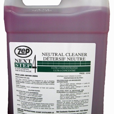 Zep Next Step 4 Neutral Floor Cleaner