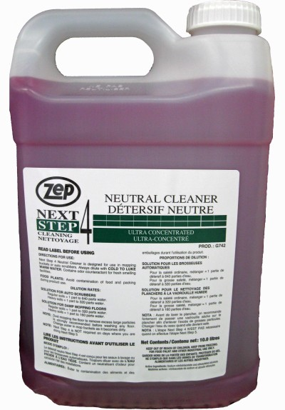 Next Step 4 Neutral Cleaner Soap Stop