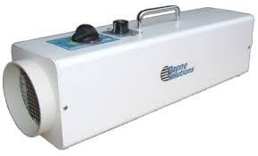 Ozone generator for eliminating odor.