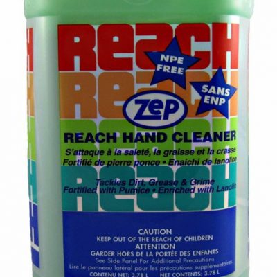Zep Reach Industrial Strength Hand Cleaner.