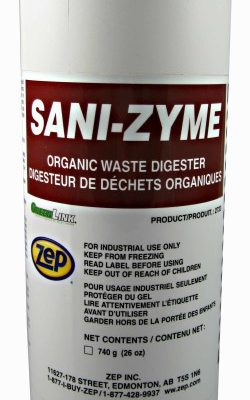 Zep Sanizyme septic waste digester.