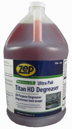 Zep Titan Heavy Duty degreaser
